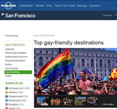 Top gay friendly cities