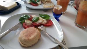 ארוחת בוקר ביתית