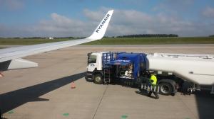 מטוס של חברת התעופה הזולה ryanair