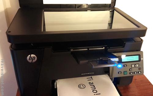 מדפסת לייזר משולבת