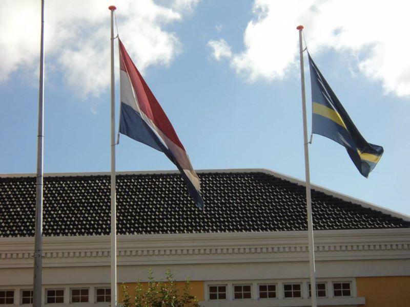 דגל קוראסאו והולנד